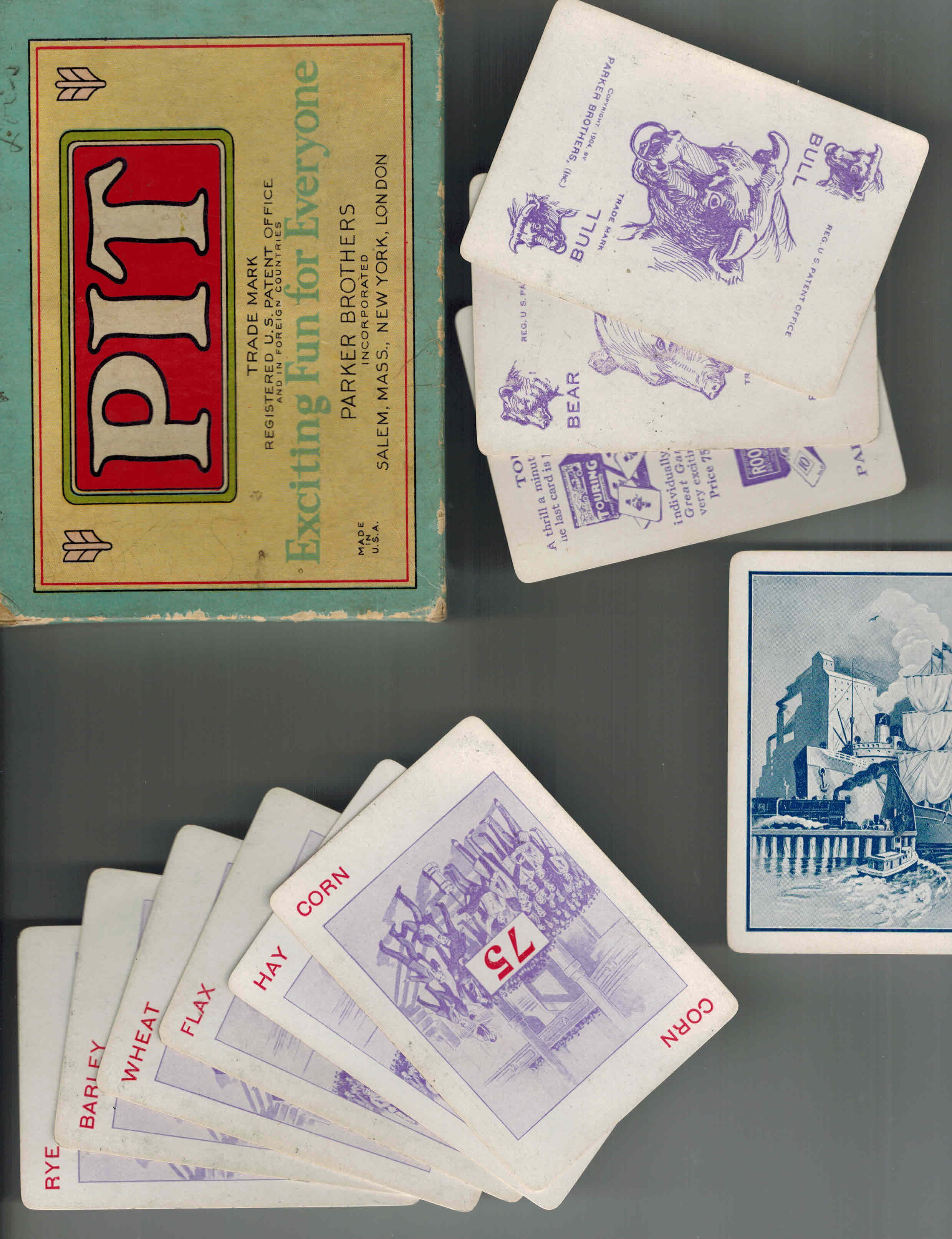 Image for Pit Game - Bull and Bear Edition 1919