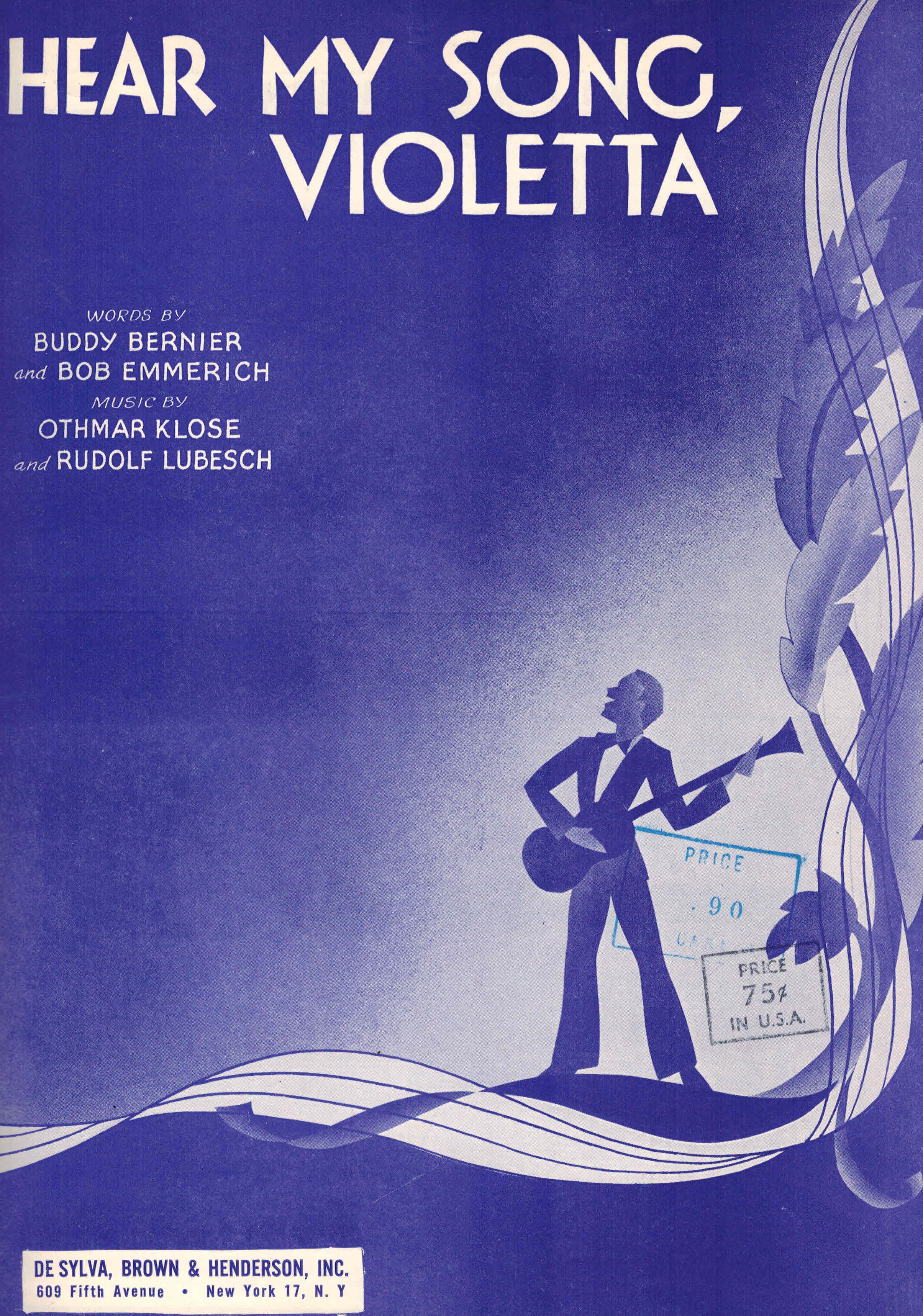 Image for Hear My Song Violetta - Sheet Music