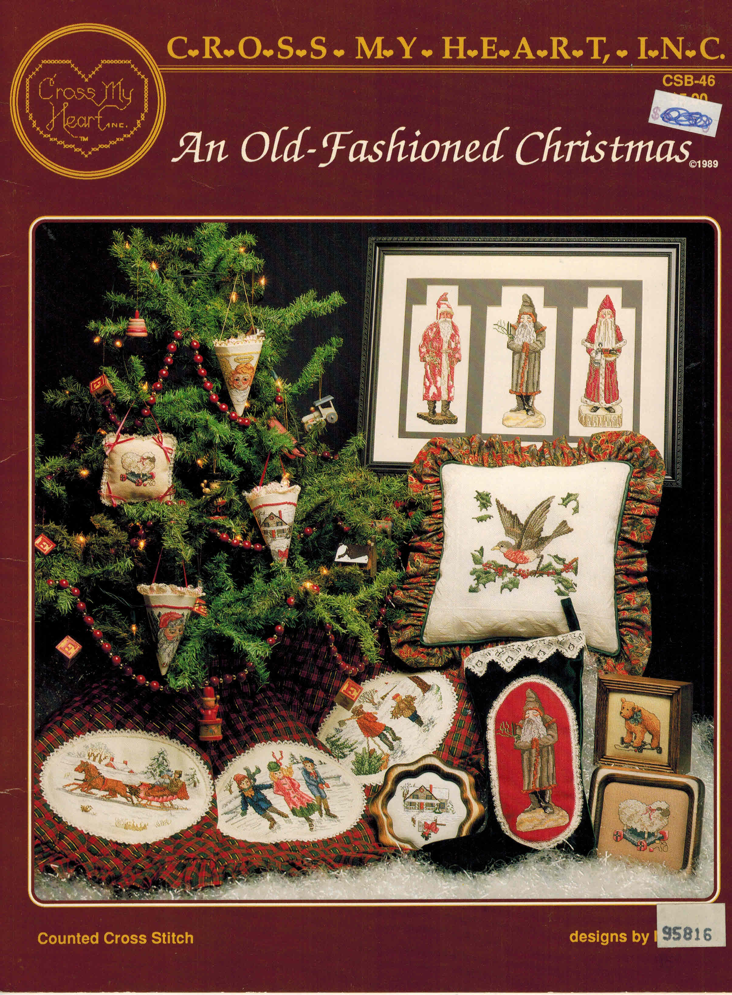 Image for An Old Fashioned Christmas - Cross My Heart CSB-46