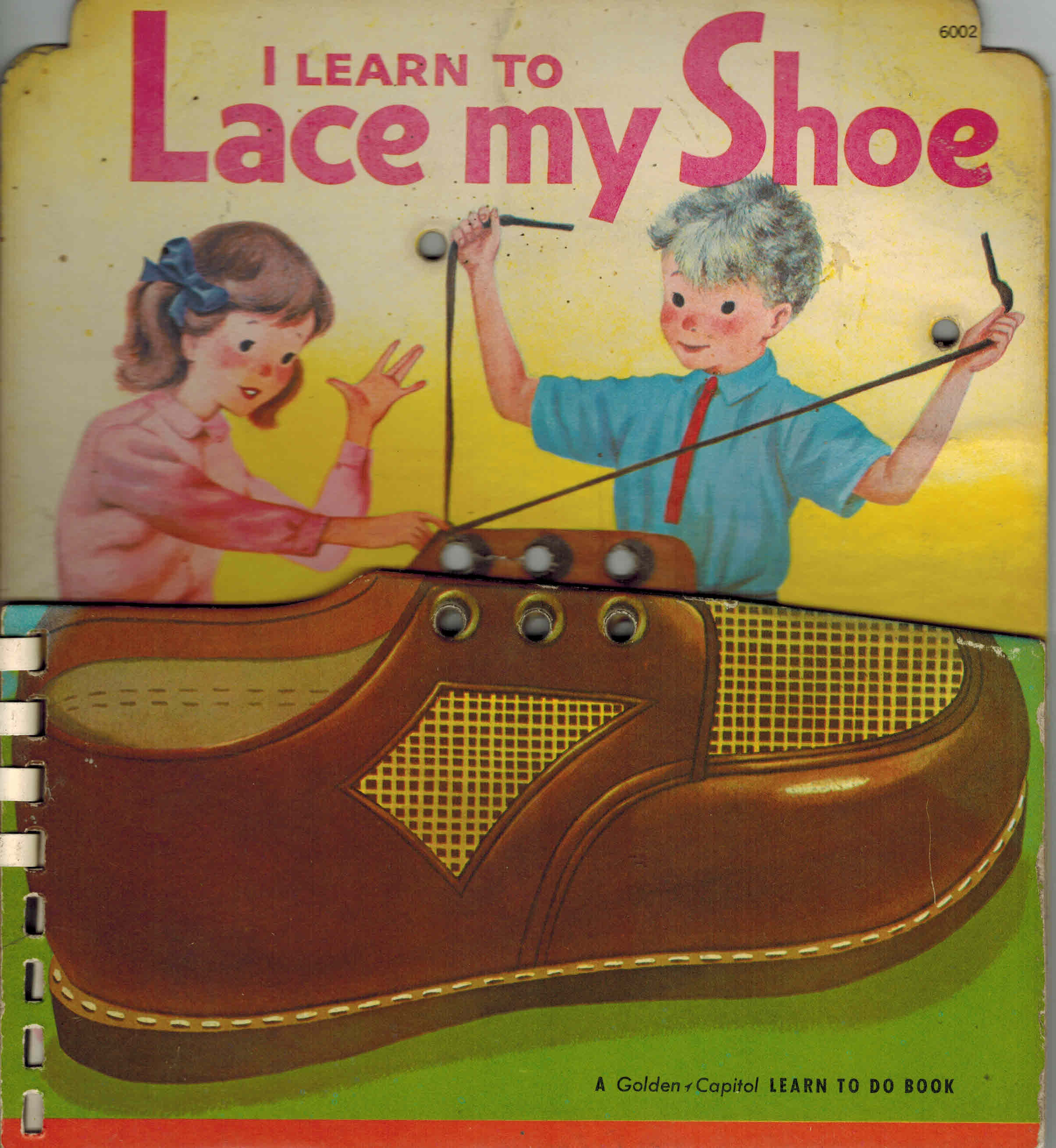 Image for I Learn to Lace My Shoe - a Golden Capitol Laern to Do Book
