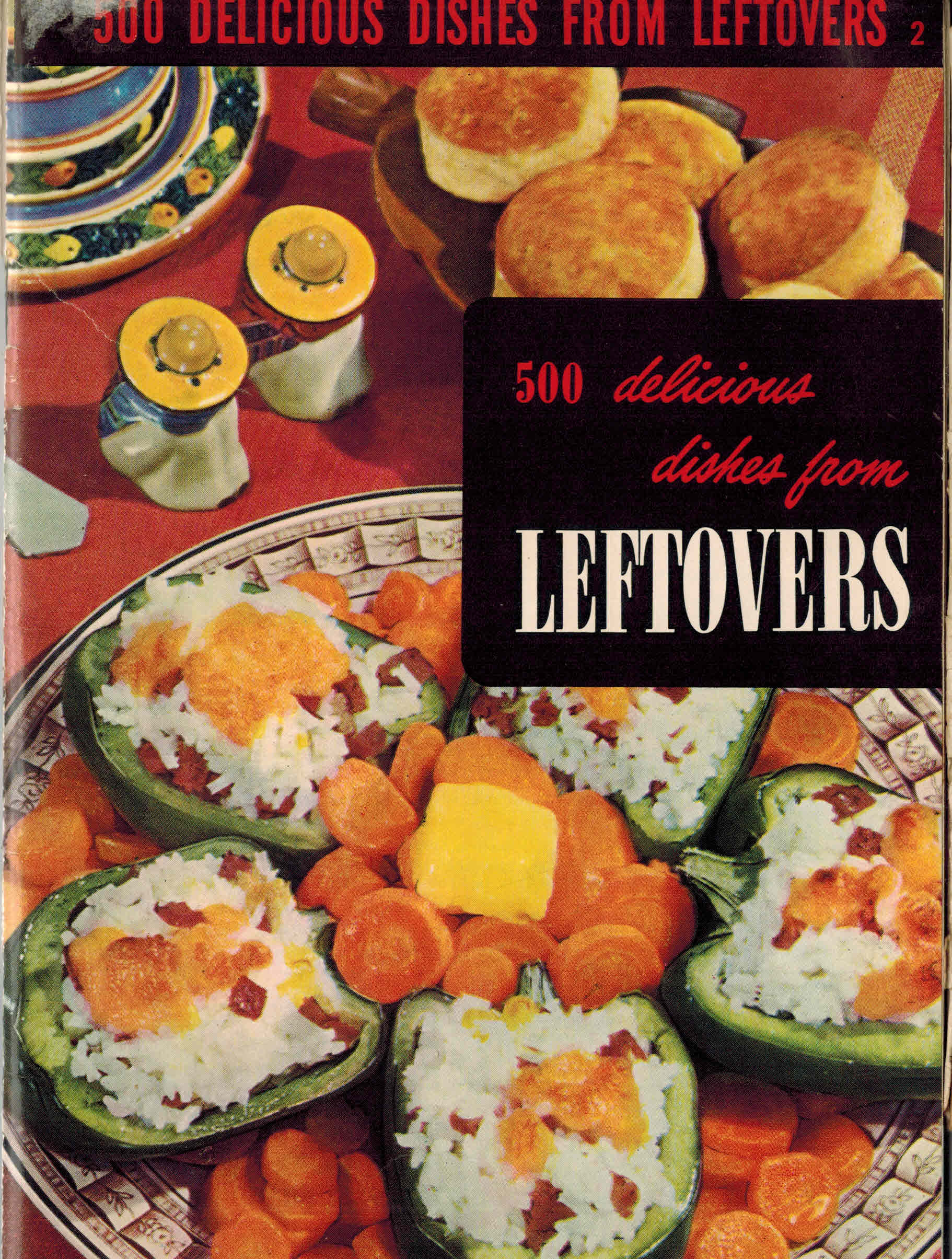 Image for 500 Delicious Dishes from Leftovers