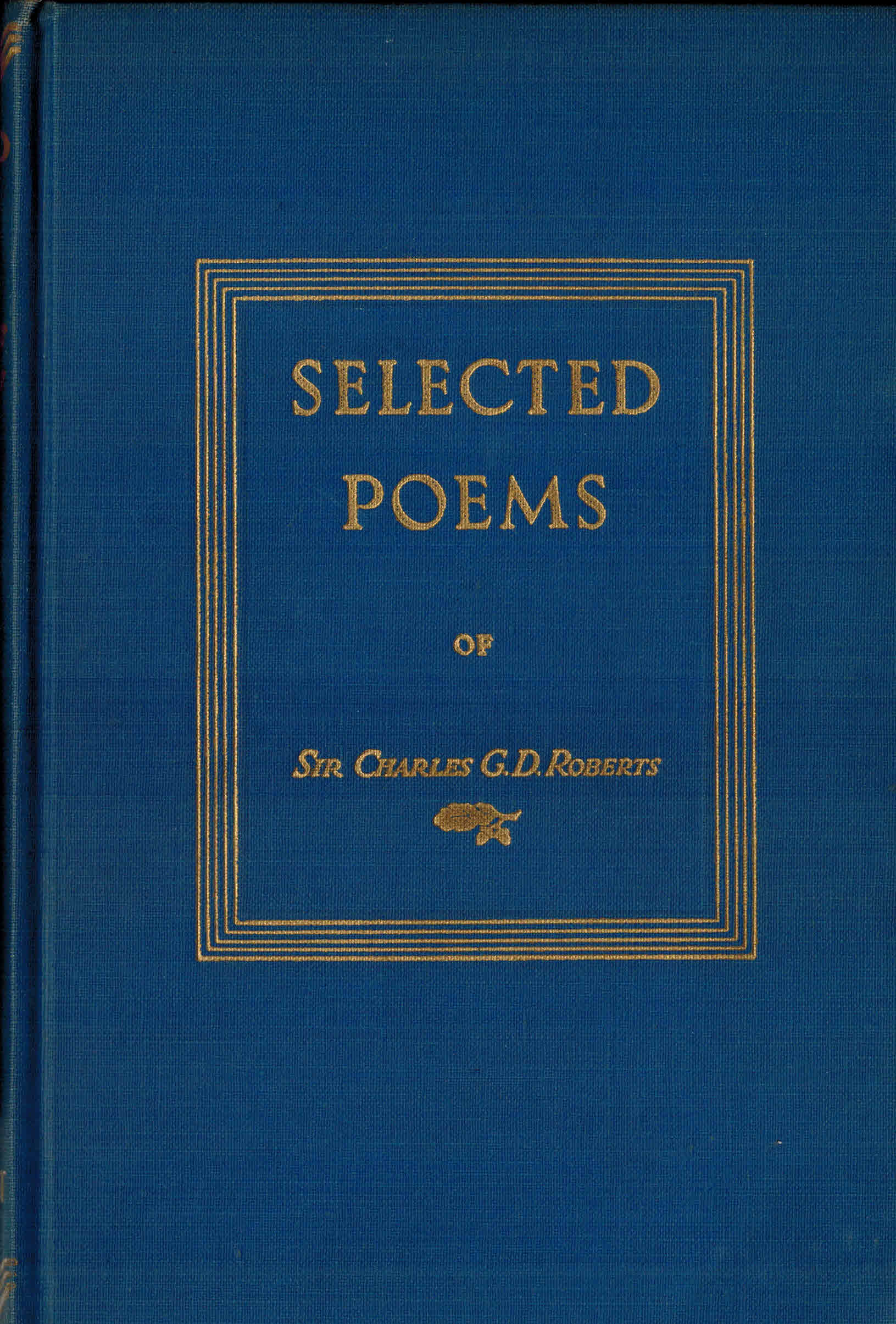 Image for Selected Poems of Charles G. D. Roberts