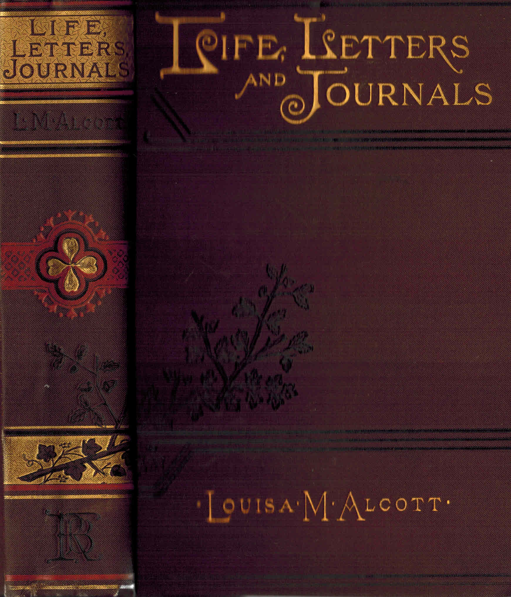 Image for Louisa May Alcott : Her Life, letters and Journals