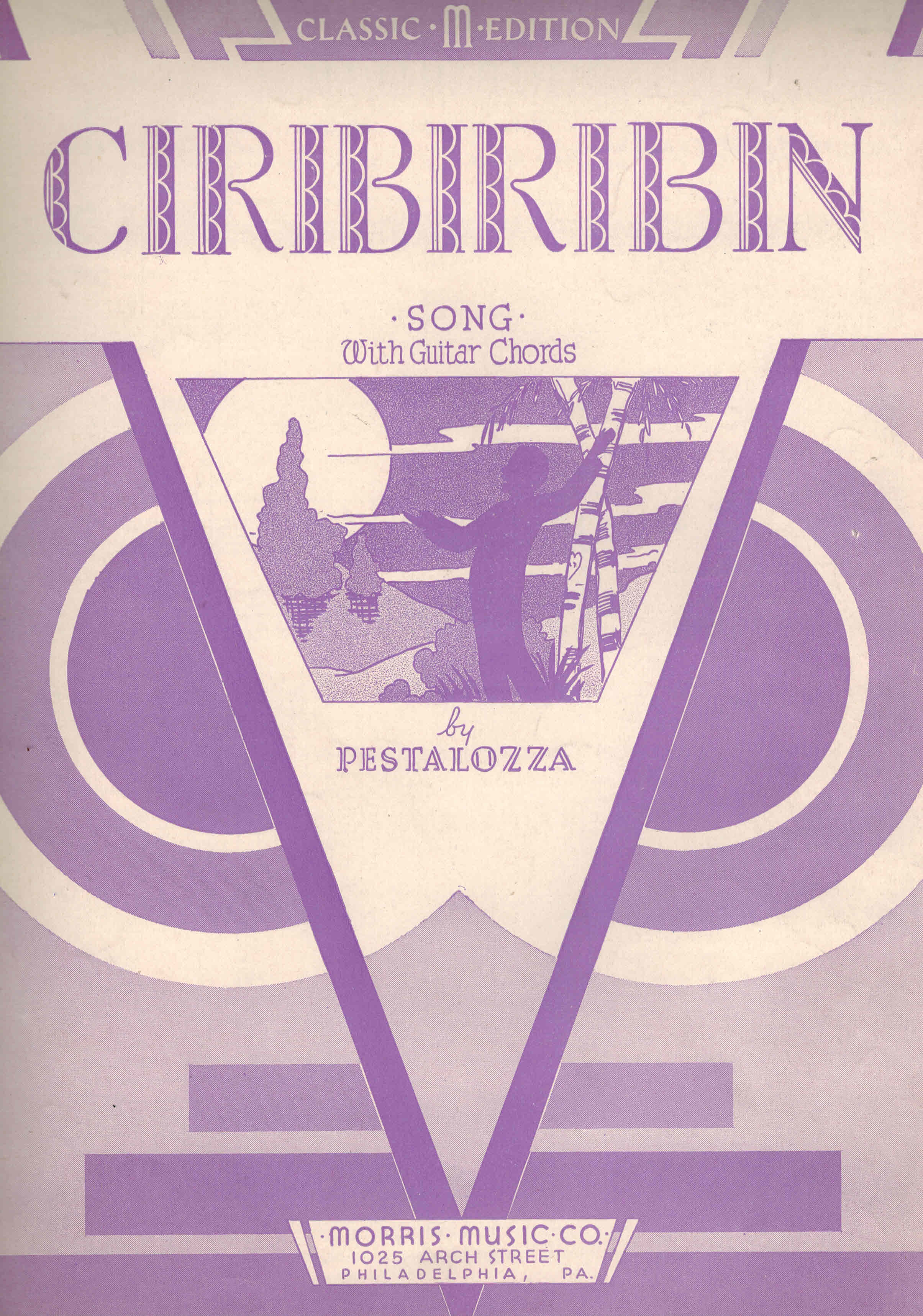 Image for Ciribiribin - Vintage Sheet Music
